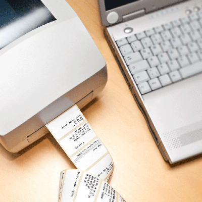 Direct Thermal Desktop Label Printer