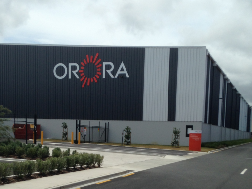 Saito's Location Labelling solution for Orora